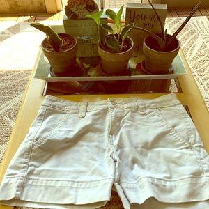 Cute White Denim Shorts